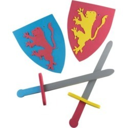 Hey! Play! Foam Sword and Shield for Kid's
