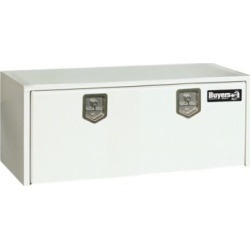 Buyers Products 24 in. x 24 in. x 48 in. White Steel Underbody Truck Box