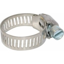 CountyLine 5/8 in. Stainless Steel Hose Clamps
