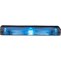 Buyers Products 5 in. Blue Low Profile Strobe for Narrow Grill Spacing