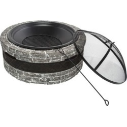 Sun Joe SJFP28-STN Cast Stone Fire Pit; 28 in. found on Bargain Bro India from Tractor Supply for $179.99