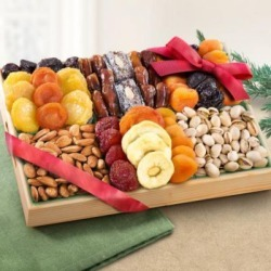 Golden State Fruit Pacific Coast Deluxe Dried Fruit Tray, AP8001