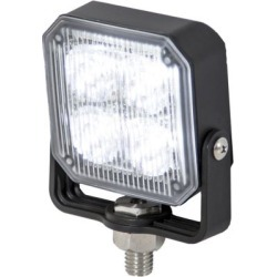 Buyers Products 2.875 in. Clear Square Post Mount Strobe Light