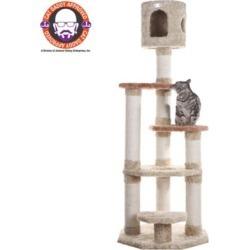 Armarkat Premium Cat Tree; Model X6606; Khaki