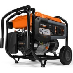 Generac GP6500 6;500 Watt Portable Generator with CO-Sense; 7680 found on Bargain Bro Philippines from Tractor Supply for $799.99