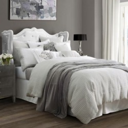 HiEnd Accents 4Pc Wilshire Comforter Set Super King, FB1615-SK-OC