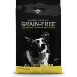 Diamond Naturals Grain-Free Cage-Free Chicken & Sweet Potato Formula Dog Food; 28 lb. Bag