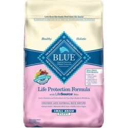 Blue Buffalo Life Protection Formula Chicken & Oatmeal Recipe For Small Breed Puppies; 15 lb.