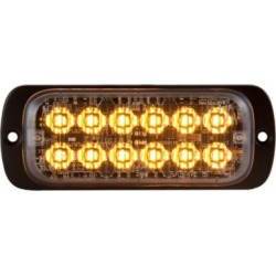 Buyers Products 4.5 in. Amber Thin Mount Rectangular Strobe Light