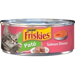 Friskies Classic Pate Salmon Dinner Wet Cat Food; 5.5 oz. Can found on Bargain Bro India from Tractor Supply for $0.55