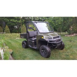 Extreme Metal Products Full Size Ranger Flip-Up Windshield