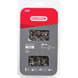 Oregon 18 in. Bar Saw Chain; 0.375 Pitch; 0.050 Gauge; Use 5/32 in. File; 62 Drive Links