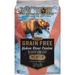 Victor Pet Food Victor Grain Free Yukon River Dry Dog Food, 30 lb.