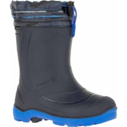 Kamik Boys' 8.5 in. Snobuster2 Navy Waterproof and Insulated Boots