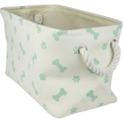 Zingz & Thingz Paw/Bone Rectangle Polyester Bin found on Bargain Bro from Tractor Supply for USD $15.19