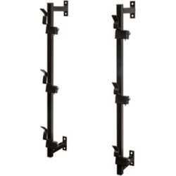Buyers Products 3-Position Snap-In Trimmer Rack for Enclosed Landscape Trailers