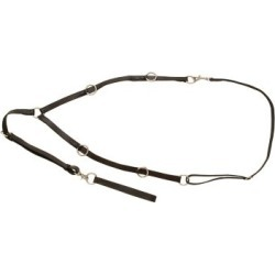 Tough-1 Leather Training Martingale, Brown, 53-55-0-0 found on Bargain Bro India from Tractor Supply for $24.99