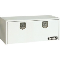 Buyers Products 18 in. x 24 in. x 48 in. White Steel Underbody Truck Box