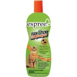 Espree Flea & Tick Cat Shampoo, 12 oz.