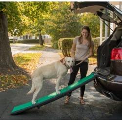 Pet Gear Inc. Tri-Fold Travel Lite Ramp with SupertraX, PG9371GRSX