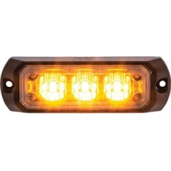 Buyers Products 3.375 in. Amber LED Mini Strobe Light