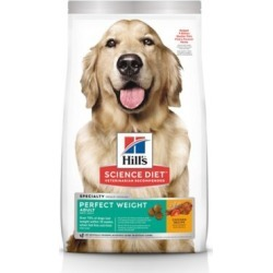 Hill's Science Diet Adult Perfect Weight Chicken Recipe Dry Dog Food, 28.5 lb. Bag
