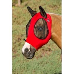 Professional's Choice Comforfly Lycra Mask Crimson; CFM200-CRI