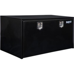 Buyers Products 24 in. x 24 in. x 48 in. Black Steel Underbody Truck Box