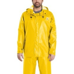 Carhartt Men's Lightweight Waterproof Rain Coat, 103509