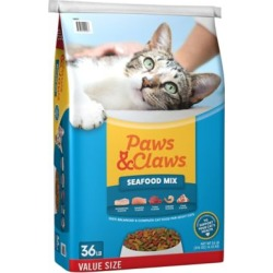 Paws & Claws Seafood Mix, 36 lb., 36 pounds