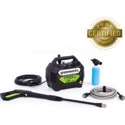 Greenworks 1700-PSI 1.2-GPM Cold Water Electric Pressure Washer found on Bargain Bro from  for $