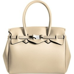 Save My Bag 10204N-LY-ME Miss Metallic Double Handle Tote Bag found on MODAPINS from Myer for USD $91.06