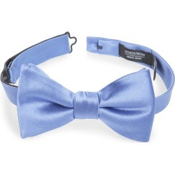 Men's Nordstrom Men's Shop Solid Silk Bow Tie, Size One Size - Blue found on Bargain Bro Philippines from Nordstrom for $24.75