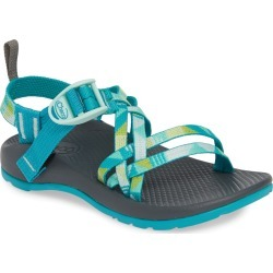 Kid's Chaco Zx/1 Sport Sandal, Size 5 M - Blue/green found on Bargain Bro India from Nordstrom for $60.00
