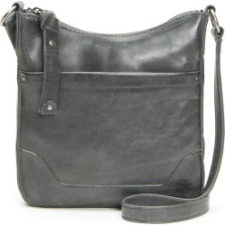 Frye Melissa Swing Leather Crossbody Bag - Grey found on Bargain Bro Philippines from Nordstrom for $198.00