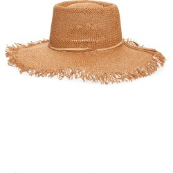 Women's Treasure & Bond Straw Boater Hat - Metallic found on Bargain Bro India from Nordstrom for $39.00