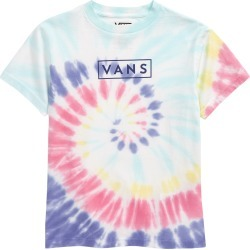 Toddler Boy's Vans Kids' Tie Dye Easy Box Graphic Tee, Size 3T - Ivory found on Bargain Bro India from Nordstrom for $29.50