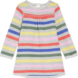e711c67c554 Girl's Mini Boden Reversible Jersey Shift Dress, Size 4-5Y - Pink found on