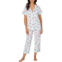 Women's Bedhead Pajamas Classic Crop Pajamas, Size X-Large - Blue found on MODAPINS from Nordstrom for USD $108.00