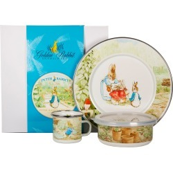 Toddler Golden Rabbit Peter Rabbit Child Dish Set, Size One Size - White found on Bargain Bro Philippines from Nordstrom for $52.50