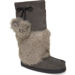 Women's Manitobah Mukluks Snowy Owl Faux Fur Waterproof Snow Boot found on MODAPINS from LinkShare USA for USD $119.99