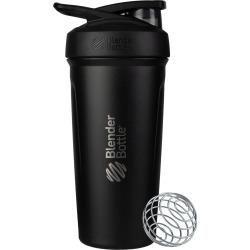 Blender Bottle Strada 24-Ounce Stainless Steel Bottle, Size One Size - Black