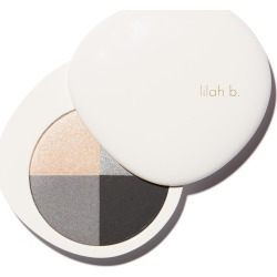 Lilah B. Palette Perfection Eye Quad - B. Fabulous (Smoky Palette)