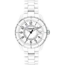 Women's Coach Preston Ceramic Bracelet Watch, 32mm found on Bargain Bro India from LinkShare USA for $295.00