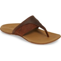 Women's Chaco Hermosa Flip Flop, Size 6 M - Brown found on Bargain Bro India from LinkShare USA for $79.95