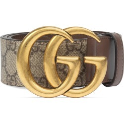 Women's Gucci Gg Supreme Canvas Belt, Size 65 - Brown found on Bargain Bro India from Nordstrom for $390.00