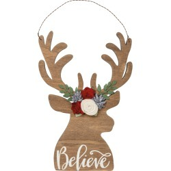 Primitives By Kathy Believe Wood Reindeer Wall Decor found on Bargain Bro India from Nordstrom for $29.99