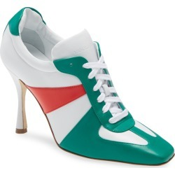 Women's Manolo Blahnik Bandiera Lace-Up Pump, Size 7US - White found on Bargain Bro India from Nordstrom for $995.00