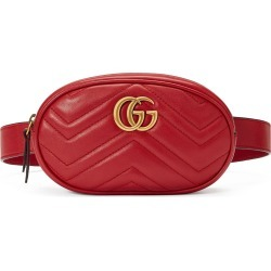 Gucci Gg Matelasse Leather Belt Bag - Red found on MODAPINS from Nordstrom for USD $805.00