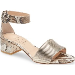 Women's Agl Ankle Strap Sandal, Size 8US - Beige found on MODAPINS from Nordstrom for USD $370.00
